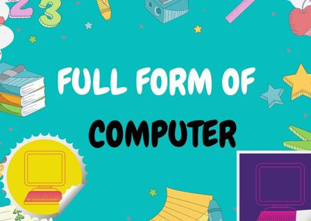 COMPUTER Full form stands for