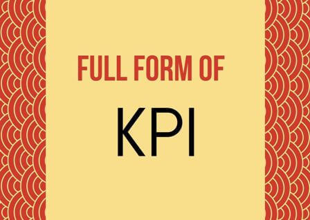 KPI Full form stands for