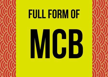 MCB Full form