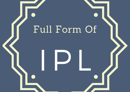 IPL Full form